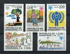 25087) HONDURAS 1980 MNH** Nuovi** Year of The Child 5v