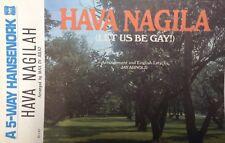 Hava Nagilah- A 5-way Hansenork, sheet music, 1968