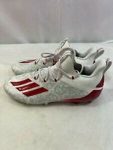 NEW Adidas Adizero Reign Young King Football Cleats FU6708 Floral Red size 11