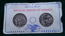 Danbury Mint Medallic History Of America Commemorative Medals Sterling