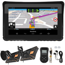 Motorrad Navigationsgerät 7 Zoll Navi GPS Biketrip Reise Lkw Auto FM Empfänger