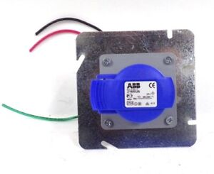 ABB, SOCKET-OUTLET, PANEL MOUNTING, 216RU6, 6H, 16A, IP44, UNIFIED FLANGE