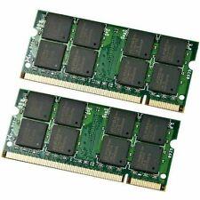 4gb = ( 2gb X2) LAPTOP MEMORY RAM DDR2 toshiba m115-s3094 dell vostro 1000 e1505