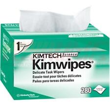 KIMWIPES Kim Wipes LINTFREE Cloth Task  - Box of 280 KIMBERLY CLARK
