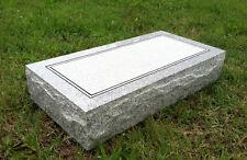 "Granite Headstone ( L24"" x W12"" x H4"" )"