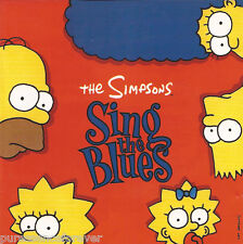 THE SIMPSONS - The Simpsons Sing The Blues (UK 10 Tk CD Album)