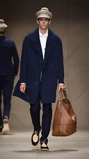 SALE $2,995 RUNWAY Burberry Prorsum 42 52 Oversize Workwear Trench Coat Men Gift