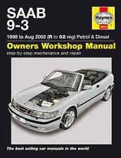 Saab 9-3 93 Repair Manual Haynes Manual Workshop Service Manual  1998-2002  4614