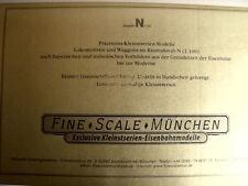 Catalogo FINE SCALE MUNCHEN 2004 - DEU ITA - Tr.17