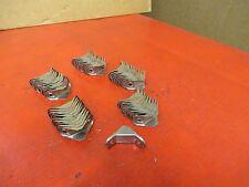 (50) NO NAME STEEL SHELF L SHAPE 90° DEGREE ANGLE CORNER BRACKET LOT OF 50 NEW