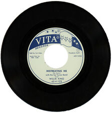 "WILLIE KING With THE IKE TURNER BAND  ""MISTREATING ME""    R&B   LISTEN!"