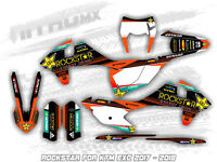 NitroMX Graphic Kit for KTM EXC EXC-F 125 250 300 350 450 500 2017 2018 Enduro
