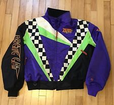 Vintage Team Arctic Cat Racing Snowmobile Jacket Color Block Womens Large