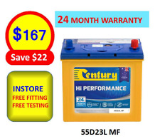 55D23L MF Century Car  Battery HOLDEN TOYOTA HYUANDAI