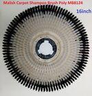 Malish Brush ,16',floor buffer , carpet cleaning,shampoo  brush  NP-9200