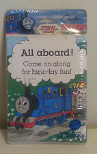 Thomas Tank Engine Birthday Party Invitations 8 count  NEW Carlton Cards