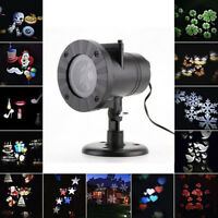 Waterproof moving Laser Projector LED Lights Outdoor Xmas Landscape Decor Light