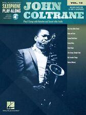 Saxophone Play-Along John Coltrane Learn to Play SAX MUSIC BOOK ONLINE AUDIO