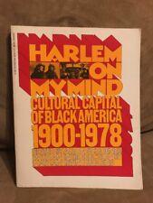 HARLEM ON MY MIND Allon Schoener 1900-1978 Nathan Irvin Huggins