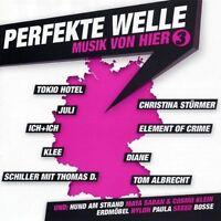 Perfekte Welle 3-Musik von hier (2005) Christina Stürmer, Tokio Hotel, Ju.. [CD]