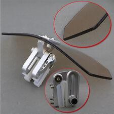 Smoke Adjustable Windshield Extension Deflector For Aprilia Tuono V4 1100 RR