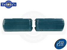 """68-72 GM A - B - F - X Body Arm Rest 11-1/2"""" Base Armrest Bases Pr. MED BLUE Dii"""