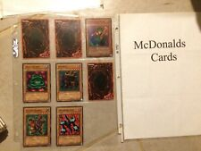 Yugioh Mcdonalds Cards Rare Lot Pokemon Magic Cards Trading Cards