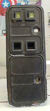 Happ Over / Under coin door w/ coin box and coin mechs for video arcade games