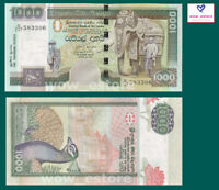 Sri Lanka 1000 1,000 Rupees, 2006, P-120, UNC,Elephant, Banknotes,Original UNC
