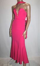 Mia Designer Pink Strapless Evening Gown Size 8 BNWT #TE10