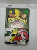 Vintage 1995 Mighty Morphin Power Rangers Straight Valance NEW Factory sealed
