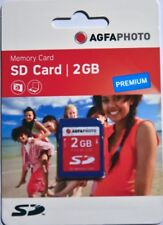 Agfa SD 2Gb PREMIUM Card NEW for cameras that show 'CARD ERROR' on SDHC cards