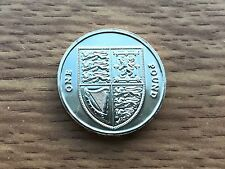 2012 £1 BU Coin - Shield Of Arms - Royal Mint - One Pound UNC Uncirculated