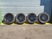AUDI A3 8P  5X112 18 INCH SET OF ALLOY WHEELS BBS STYLE ET45 18X8J (SOME TYRES)