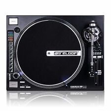 RELOOP RP-8000 w/ STRAIGHT TONE ARM.  DIRECT DRIVE TURNTABLE w/ MIDI PADS 8000ST