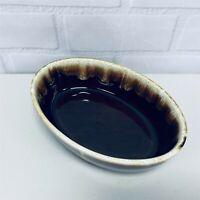 "Gourmet Brown by Pfaltzgraff Oval 7.5"" Casserole Baker Serving Dish"