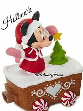 2016 Hallmark Disney Mickey Christmas Express Train Minnie Mouse New With Tags