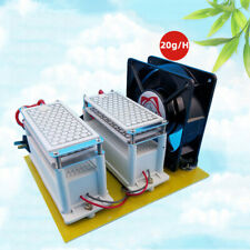 110V 20g Ozone Generator Air Purifiers Ozone Disinfection Machine with Fan Us