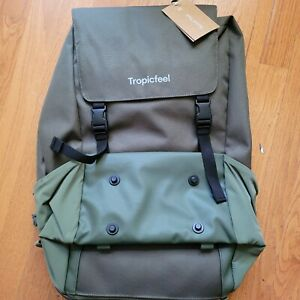 Tropicfeel Shell Backpack - 3-in-1 22L to 40L - Clover Green, Weatherproof