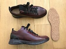 FEIT biotrainer Semi Cordovan ox Blood Black Shoes Trainers Hand Sewn 10 9 43 DS