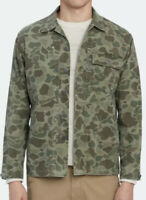 Polo Ralph Lauren Small Shirt Jacket Hunting Thick RRL Camo Green VTG Military