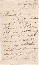 Autograph Letter Signed by English painter and inventor William Brockedon
