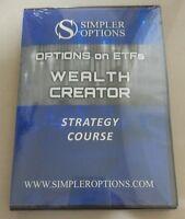 DVD - Simpler Options - Options ETF Wealth Creator Strategy Course  John Carter