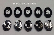 LOTS of 10  pcs.  Watch Movement PC21