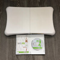 Nintendo Wii Fit Game and Balance Board  TESTED Exercise Fitness Nintendo
