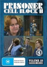 Prisoner Cell Block H, Vol 25, EPS 385-400 (4 DVD'S) NEW & SEALED region free 0