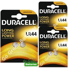 6 x Duracell LR44 1.5V Alkaline Button Cell Batteries LR 44 A76 AG13 357 hexbug