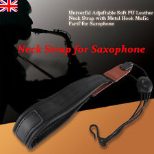 Adjustable Saxophone Neck Strap for Soprano Alto Tenor Baritone Sax Parts Hook