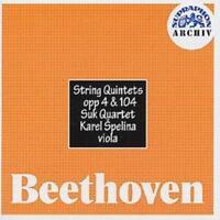 Ludwig van Beethoven : String Quintets, opp 4 & 104 CD (1999) ***NEW***