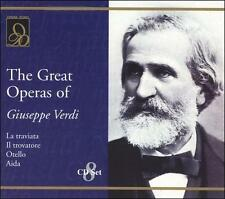 The Great Operas of Giuseppe Verdi (CD, Oct-2001, 8 Discs, Opera D'Oro)